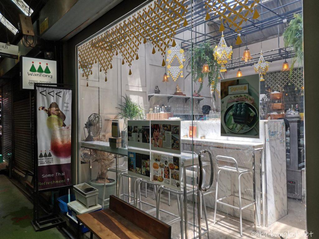 バンコク・チャトゥチャックウィークエンドマーケット2020 冷房カフェ