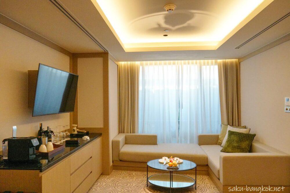 【ホテルレビュー】バンヤンツリーバンコクのお部屋とアフタヌーンティー