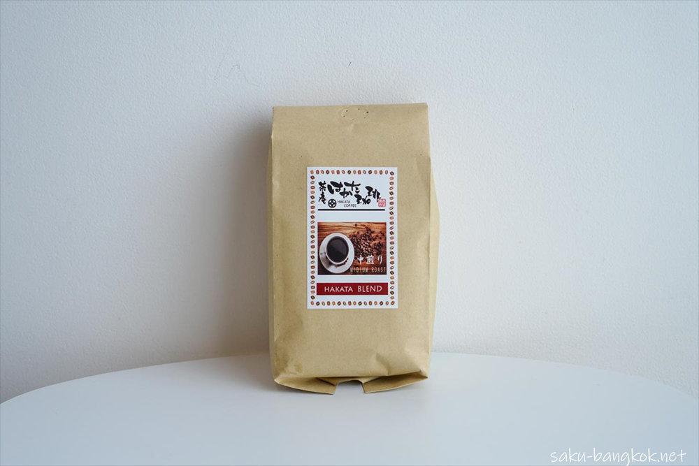 バンコクで買えるコーヒー豆 はかた珈琲 HAKATA BLEND
