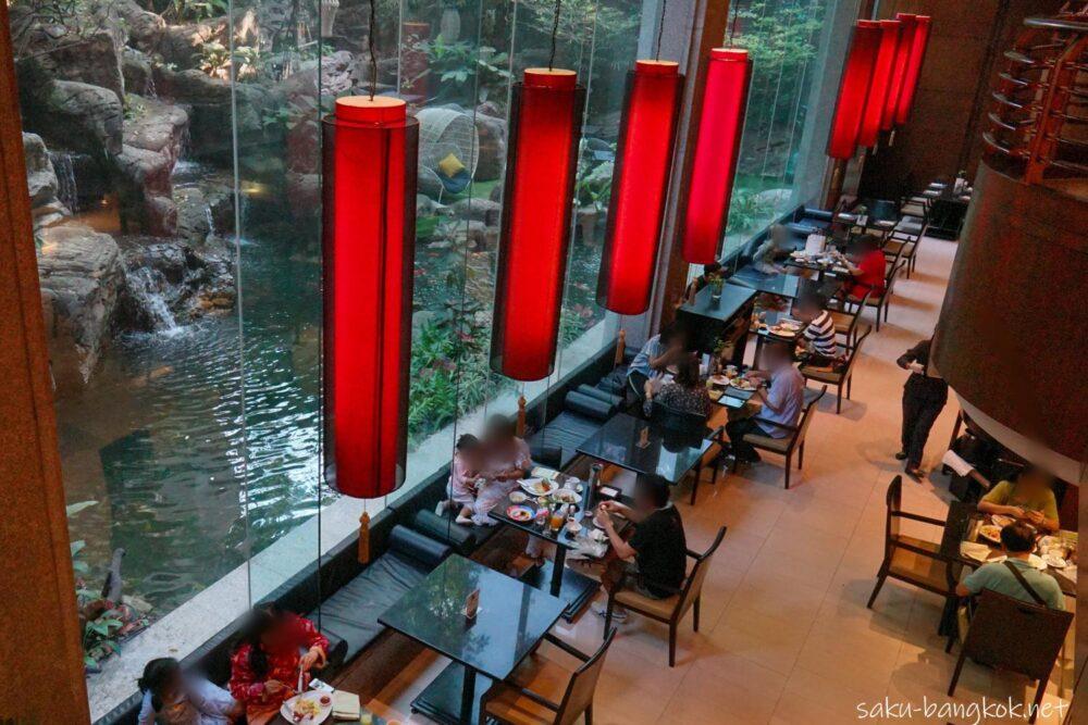 バンヤンツリー・バンコクの朝食会場