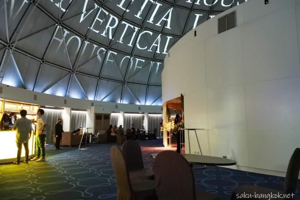 【期間限定】ルブアホテル・ドーム内プロジェクトマッピングイベント『Lutetia by Lebua: The Vertical Pop-up』