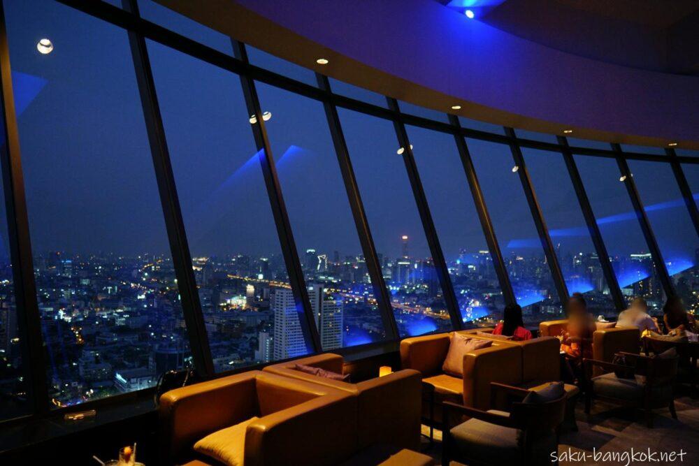 【ThreeSixty】ミレニアムヒルトンバンコクにある360°の夜景を楽しめるルーフトップバー&ラウンジ