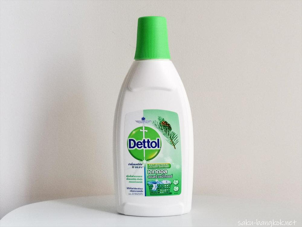 【タイの洗剤】Dettol Laundry Sanitiser(消毒液)